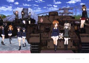 Rating: Safe Score: 9 Tags: akiyama_yukari azumi_(girls_und_panzer) bandages girls_und_panzer isuzu_hana megane megumi_(girls_und_panzer) nishizumi_maho nishizumi_miho reizei_mako rumi_(girls_und_panzer) shimada_arisu takebe_saori thighhighs uniform User: drop