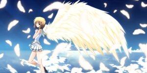 Rating: Safe Score: 26 Tags: game_cg izumi_mahiru shijima_maki soranica_ele wings User: girlcelly