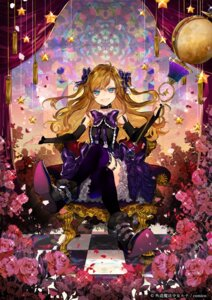 Rating: Safe Score: 31 Tags: dress gedou_mahou_shoujo_luna heels nozaki_tsubata thighhighs weapon User: nphuongsun93