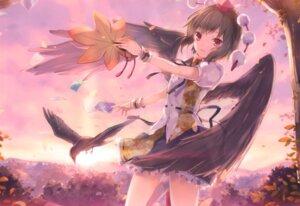 Rating: Safe Score: 54 Tags: 6u shameimaru_aya touhou wings User: b923242