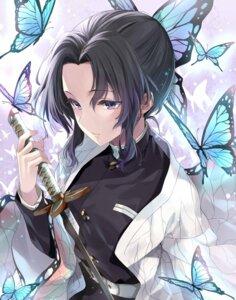 Rating: Safe Score: 27 Tags: japanese_clothes kakao_rantan kimetsu_no_yaiba kochou_shinobu sword uniform User: mash