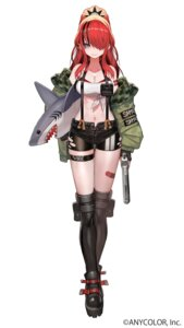 Rating: Questionable Score: 19 Tags: bandaid bra garter gun lack tagme torn_clothes User: Dreista