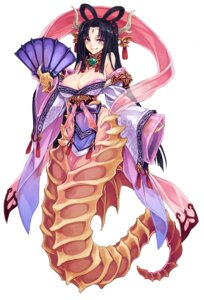 Rating: Questionable Score: 18 Tags: asian_clothes horns kenkou_cross monster_girl tail User: NotRadioactiveHonest