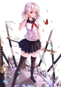 Rating: Safe Score: 18 Tags: neon_(hhs9444) seifuku sword tagme thighhighs User: Mr_GT