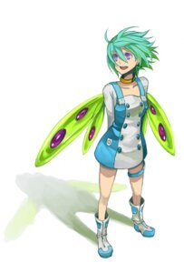 Rating: Safe Score: 16 Tags: dress eureka eureka_seven garter osamu wings User: Syko83