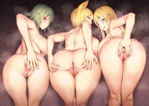 Rating: Explicit Score: 18 Tags: animal_ears anus ass diisuke kazami_yuuka naked photoshop pussy pussy_juice touhou uncensored yakumo_ran yakumo_yukari User: BattlequeenYume