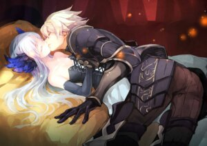 Rating: Safe Score: 38 Tags: armor cleavage dress gin_(oyoyo) gwendolyn odin_sphere oswald User: Mr_GT
