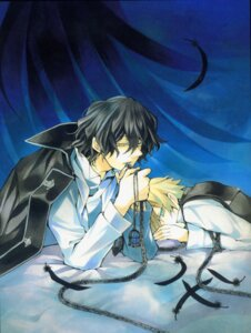 Rating: Safe Score: 5 Tags: gilbert_nightray male oz_vessalius pandora_hearts wings User: hirotn