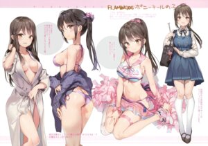 Rating: Questionable Score: 194 Tags: anmi ass bikini cheerleader cleavage garter megane_shoujo no_bra open_shirt pantsu string_panties sweater swimsuits thighhighs yukata User: Twinsenzw