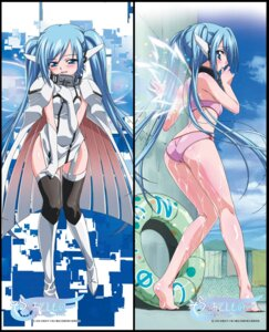 Rating: Questionable Score: 84 Tags: ass bikini dakimakura nymph sora_no_otoshimono swimsuits wet wings User: inabe777