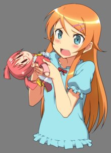 Rating: Safe Score: 135 Tags: kousaka_kirino mascot-chan ore_no_imouto_ga_konnani_kawaii_wake_ga_nai toni transparent_png User: admin2