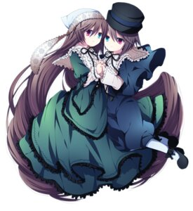 Rating: Safe Score: 9 Tags: heterochromia lolita_fashion rozen_maiden soranagi souseiseki suiseiseki User: Cloudfrost