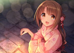 Rating: Safe Score: 35 Tags: possible_duplicate shimamura_uzuki the_idolm@ster the_idolm@ster_cinderella_girls u_rin yukata User: hiroimo2