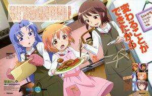 Rating: Safe Score: 14 Tags: kotoura-san kotoura_haruka mifune_yuriko moritani_hiyori ookuma_takaharu seifuku User: omegamax