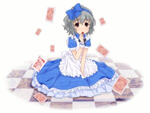 Rating: Safe Score: 16 Tags: abe_kanari alice_in_wonderland cosplay dress narumiya_yume the_idolm@ster the_idolm@ster_cinderella_girls User: Radioactive