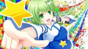 Rating: Safe Score: 14 Tags: kochiya_sanae sora_freebird touhou wallpaper User: RyuZU