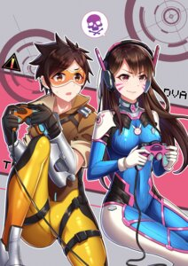 Rating: Safe Score: 14 Tags: bodysuit headphones heishan overwatch tagme User: saemonnokami