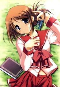 Rating: Questionable Score: 13 Tags: komaki_manaka moekibara_fumitake seifuku to_heart_2 to_heart_(series) User: androgyne