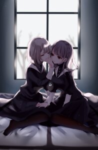 Rating: Safe Score: 32 Tags: pantyhose seifuku sinsihukunokonaka yuri User: BattlequeenYume
