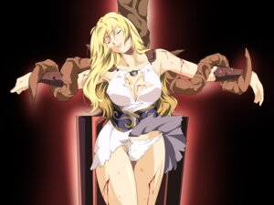 Rating: Questionable Score: 35 Tags: arux78 blood bondage cleavage no_bra open_shirt pantsu skirt_lift sophitia_alexandra soul_calibur torn_clothes User: mash
