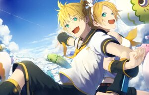 Rating: Safe Score: 8 Tags: kagamine_len kagamine_rin p.rupon vocaloid User: charunetra
