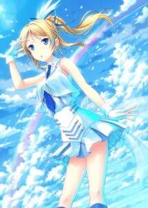 Rating: Safe Score: 43 Tags: ayase_eli love_live! uehara User: fairyren