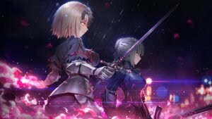 Rating: Safe Score: 54 Tags: armor fate/grand_order jeanne_alter maredoro saber saber_alter sword User: Mr_GT