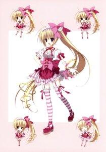 Rating: Safe Score: 32 Tags: chibi inugami_kira lolita_fashion stockings thighhighs User: crim