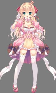 Rating: Safe Score: 81 Tags: cleavage dress love_love_princess marigold_bluette_erland pajamas_ex rubi-sama thighhighs transparent_png User: charunetra