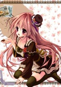 Rating: Questionable Score: 40 Tags: ame_zaiku cleavage dress shiramori_yuse thighhighs User: Hatsukoi
