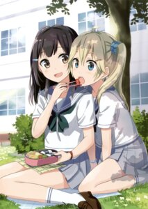 Rating: Safe Score: 55 Tags: gochou_(comedia80) seifuku User: Twinsenzw
