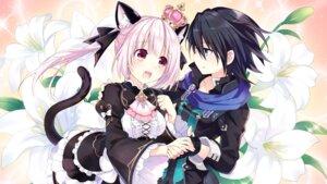 Rating: Safe Score: 48 Tags: animal_ears choujigen_game_neptune dress game_cg kiria_(choujigen_game_neptune) kuronekohime_(choujigen_game_neptune) nekomimi tail tsunako yuri User: Nepcoheart