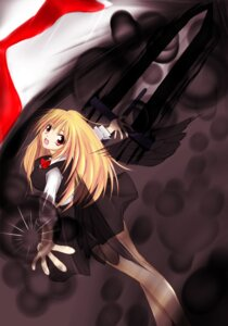 Rating: Safe Score: 4 Tags: iritamago rumia sword touhou User: Sunplace