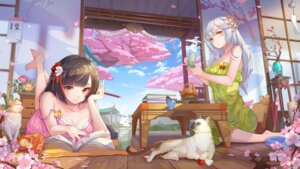 Rating: Safe Score: 26 Tags: chengchenwang dawn:_moment_of_victory dress neko no_bra summer_dress User: whitespace1