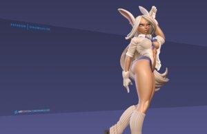 Rating: Questionable Score: 5 Tags: animal_ears ass boku_no_hero_academia bunny_ears cg erect_nipples no_bra open_shirt pantsu see_through seifuku tagme usagiyama_rumi User: shirojc