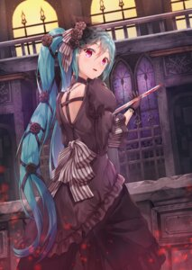 Rating: Safe Score: 33 Tags: blood dress hatsune_miku lolita_fashion lunacle sword vocaloid User: Mr_GT