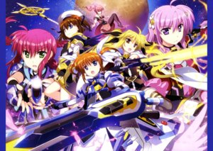 Rating: Questionable Score: 16 Tags: amitie_florian fate_testarossa fujima_takuya iris_(magical_girl_lyrical_nanoha) kyrie_florian mahou_shoujo_lyrical_nanoha mahou_shoujo_lyrical_nanoha_reflection pantyhose possible_duplicate sword takamachi_nanoha weapon yagami_hayate User: drop