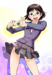 Rating: Safe Score: 10 Tags: megane seifuku ueyama_michirou User: Radioactive