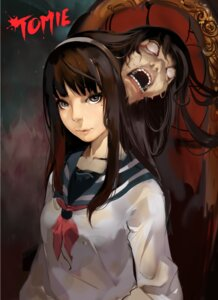 Rating: Questionable Score: 6 Tags: guro see_through seifuku tagme tomie User: Radioactive