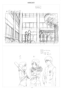 Rating: Safe Score: 2 Tags: kawashima_ami kitamura_yuusaku kushieda_minori monochrome sketch toradora! User: superogira