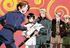 Rating: Safe Score: 7 Tags: america crease germany hetalia_axis_powers japan male north_italy scanning_artifacts united_kingdom User: lunalunasan