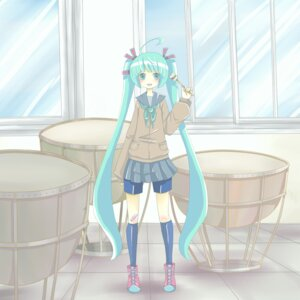 Rating: Safe Score: 5 Tags: dokumitsu_akaringo hatsune_miku seifuku vocaloid User: Radioactive