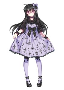 Rating: Safe Score: 33 Tags: abyss_of_parliament dress megane skirt_lift User: blooregardo