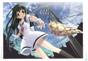 Rating: Safe Score: 22 Tags: amesarasa chiyokawa_rin cuffs kantoku seifuku umbrella User: Twinsenzw