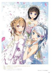 Rating: Safe Score: 42 Tags: dress imouto_sae_ireba_ii. kantoku wedding_dress User: kiyoe
