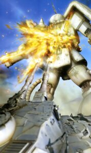 Rating: Safe Score: 4 Tags: gun gundam mecha mobile_suit_gundam User: drop