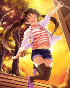 Rating: Safe Score: 55 Tags: school_fanfare thighhighs User: saemonnokami