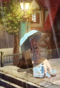Rating: Safe Score: 49 Tags: fate/stay_night jewriel saber umbrella User: Mr_GT
