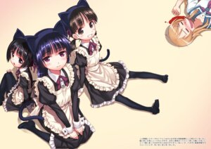 Rating: Safe Score: 52 Tags: animal_ears blood gokou_hinata gokou_ruri gokou_tamaki heels kousaka_kirino maid matsuryuu nekomimi ore_no_imouto_ga_konnani_kawaii_wake_ga_nai pantyhose seifuku tail User: Mr_GT