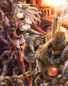 Rating: Safe Score: 47 Tags: armor makirin mecha stockings thighhighs User: fairyren